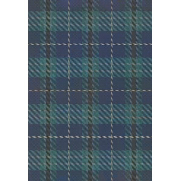 Blue, Distressed Black - The Lake District Country Area-Rugs
