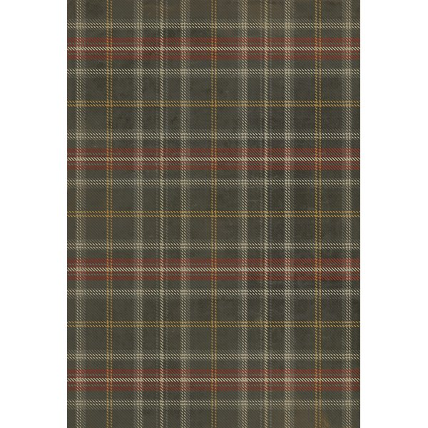 Distressed Black, Red, Cream - Forth Bridge Country Area-Rugs