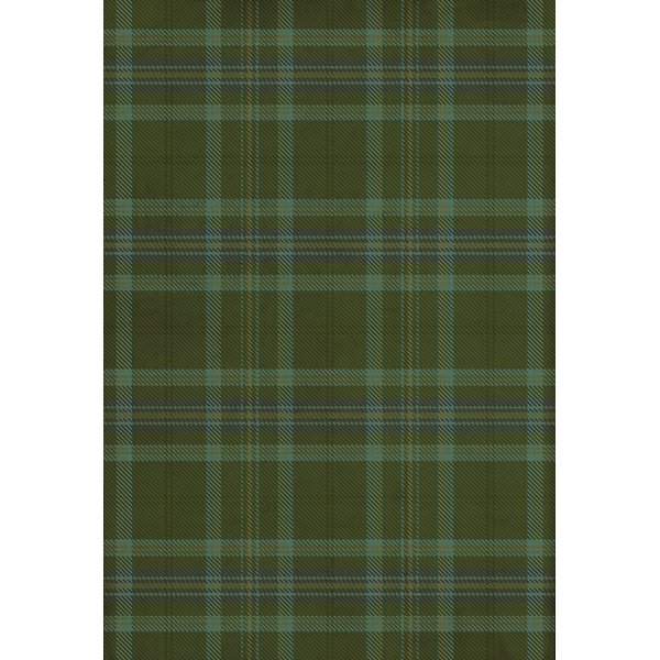 Green, Blue - Loch Ness Country Area-Rugs