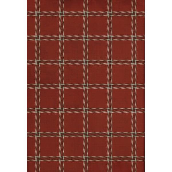 Red, Cream, Distressed Black - Edinburgh Country Area-Rugs