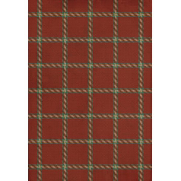 Red, Green, Cream - Manchester Country Area-Rugs