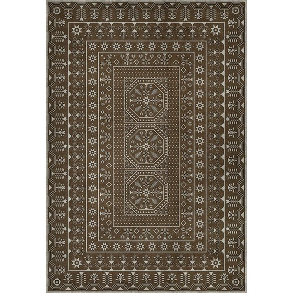 Antiqued Brown, Beige (The Tale Untold) Contemporary / Modern Area Rug