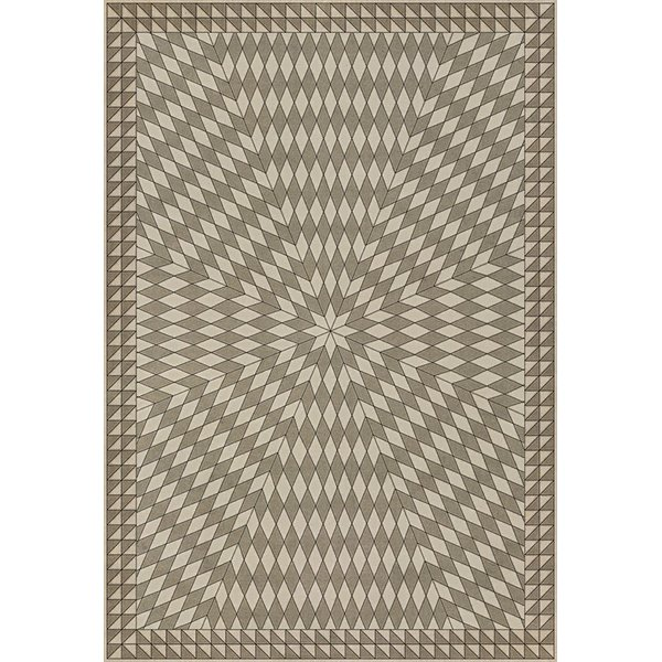 Beige (With the Earth and the Sky) Contemporary / Modern Area Rug