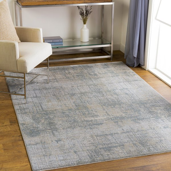 Sage, Light Grey, White (BWK-2301) Abstract Area-Rugs
