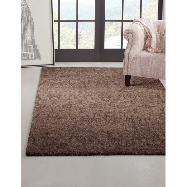 Chocolate, Brown (3509) Traditional / Oriental Area Rug