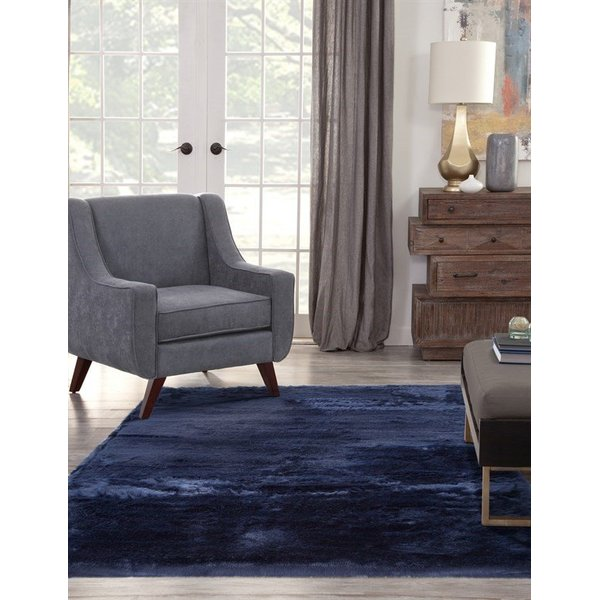 Blue (2806) Shag Area Rug