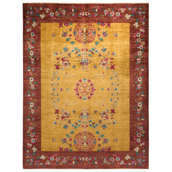 Gold Traditional / Oriental Area-Rugs