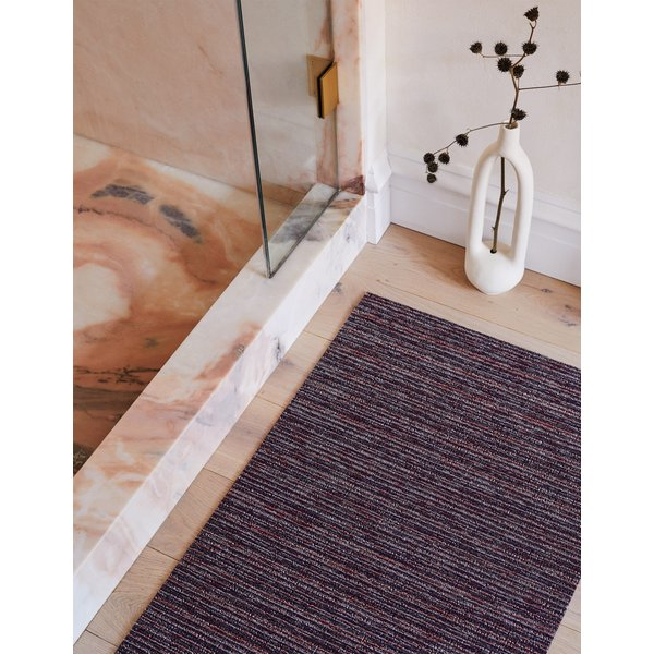 Mulberry (023) Striped Area Rug