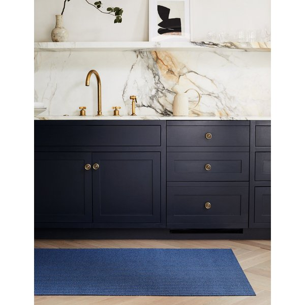 Blueberry (001) Striped Area Rug