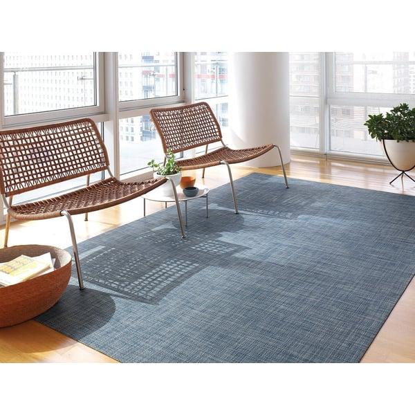Denim Contemporary / Modern Area Rug