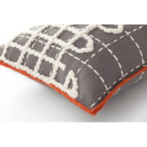 Grey Contemporary / Modern pillow