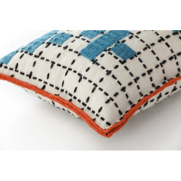 Turquoise Contemporary / Modern pillow