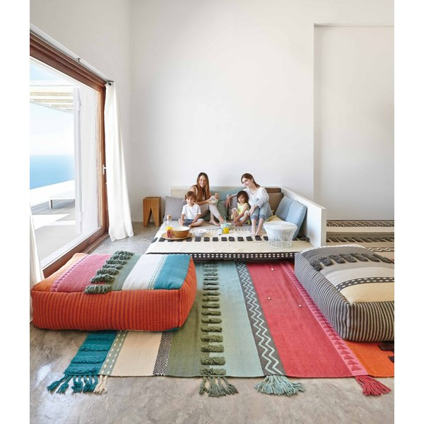 Green, Red, Blue (Colours) Moroccan Area-Rugs