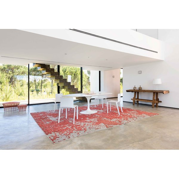Coral Contemporary / Modern Area-Rugs