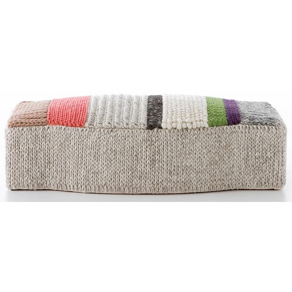 Grey, Cream, Taupe (MP-3) Contemporary / Modern poufs