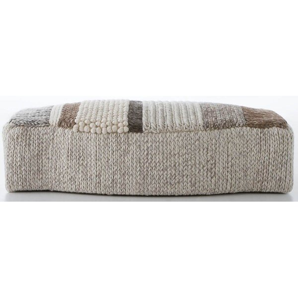 Grey, Cream, Brown (MP-3N) Contemporary / Modern poufs