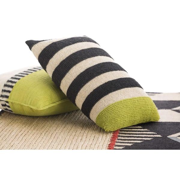 Pistachio Striped Pillow
