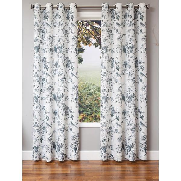 Birds Floral / Botanical Curtains