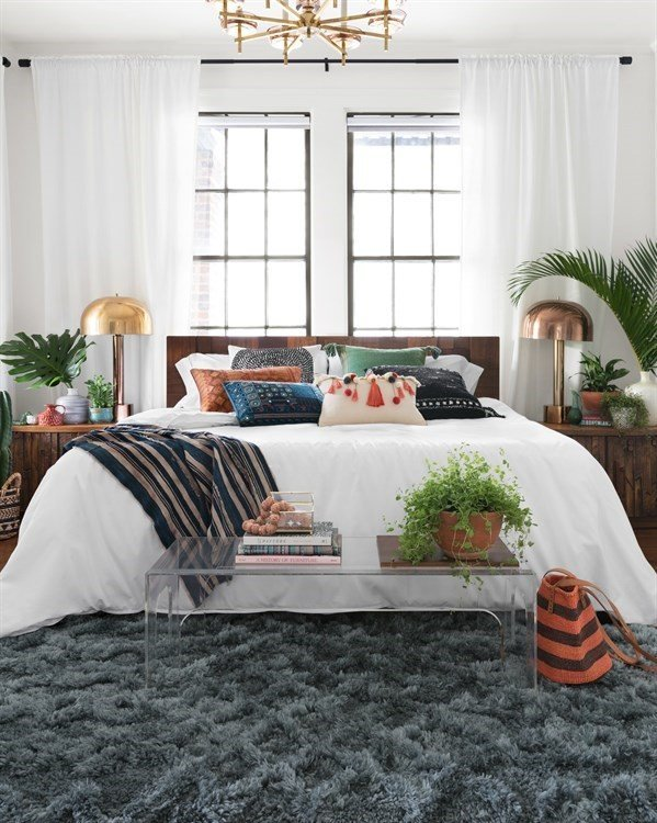 Shag Rug Bedroom Ideas