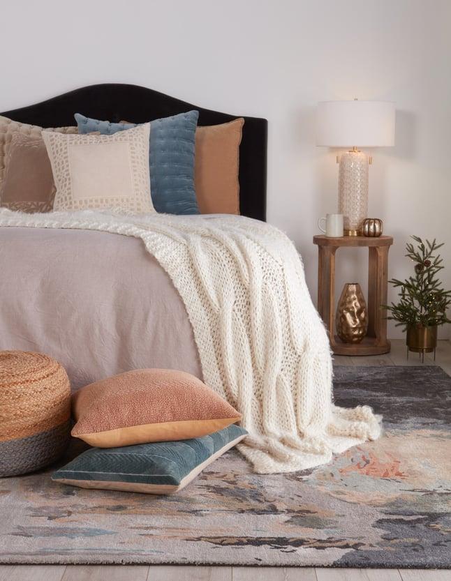 Abstract Bedroom Rug Ideas