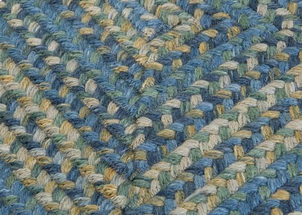 Whipple Blue (RV-50) Country Area Rug