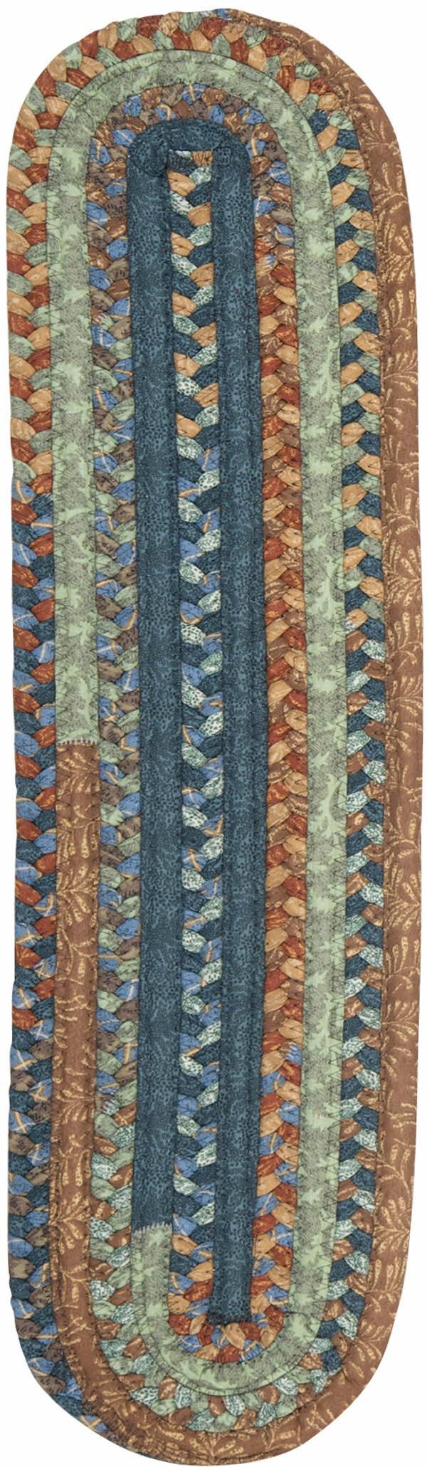 Vintage Blue (OV-59) Country Area Rug