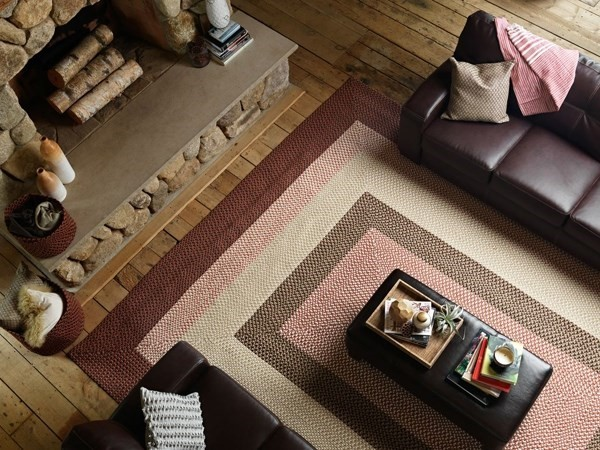 Rusted Rose (TB-79) Outdoor / Indoor Area Rug