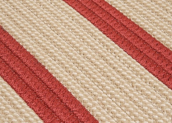 Rust Red (BT-79) Outdoor / Indoor Area Rug