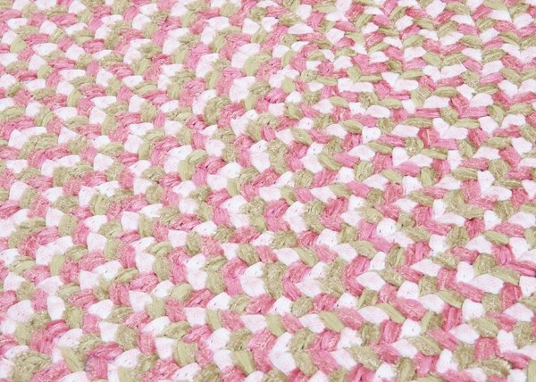 Pink (TI-79) Country Area Rug