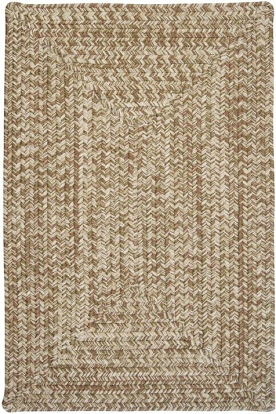 Moss Green (CC-69) Country Area Rug