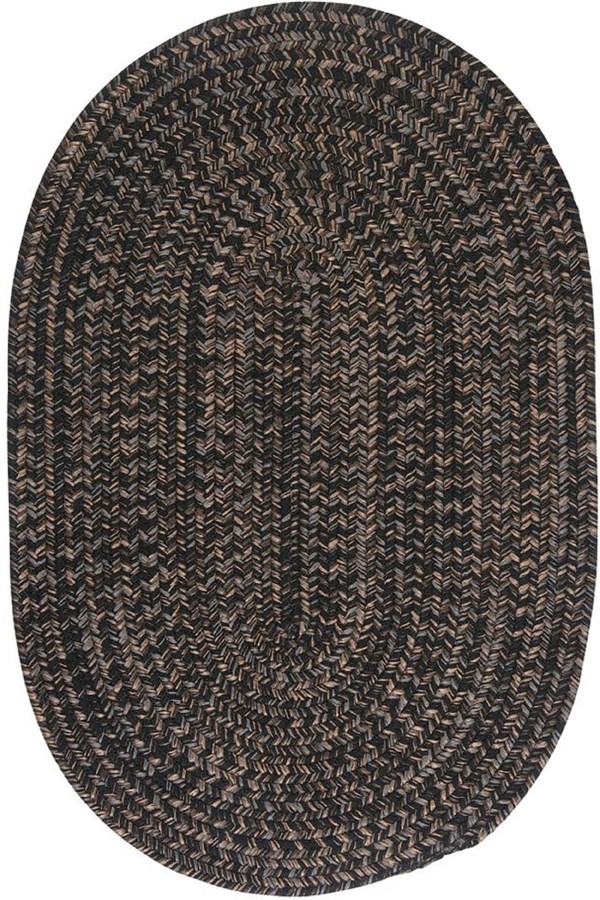Black (HY-19) Country Area Rug