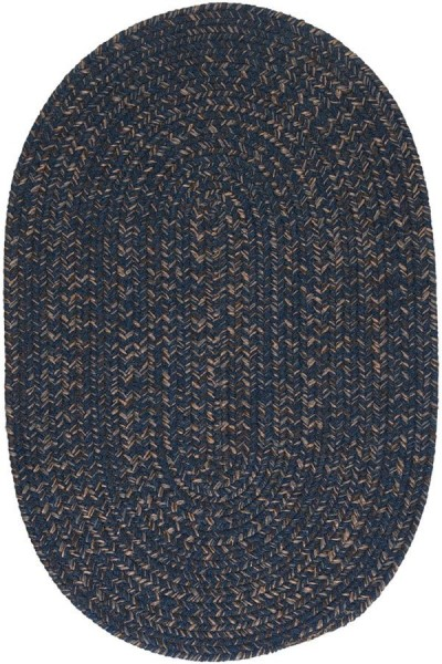Navy (HY-59) Country Area Rug