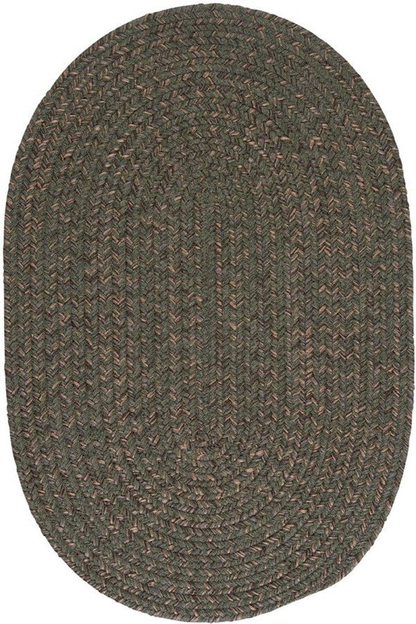 Olive (HY-69) Country Area Rug