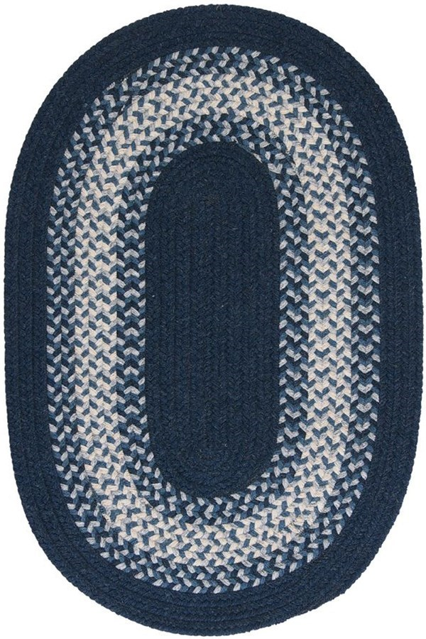 Navy (NG-59) Country Area Rug