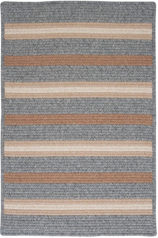 Gray (LY-19) Country Area Rug