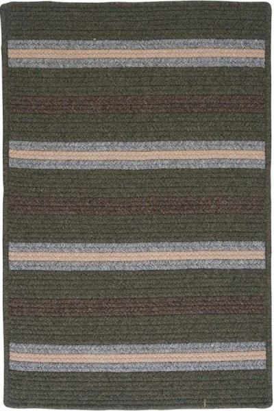 Olive (LY-49) Country Area Rug