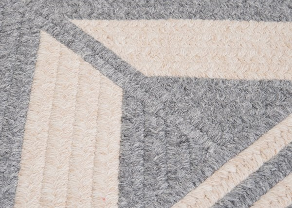 Gray (ED-19) Country Area Rug