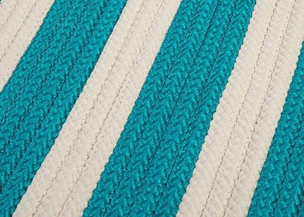 Turquoise (TR-49) Outdoor / Indoor Area Rug