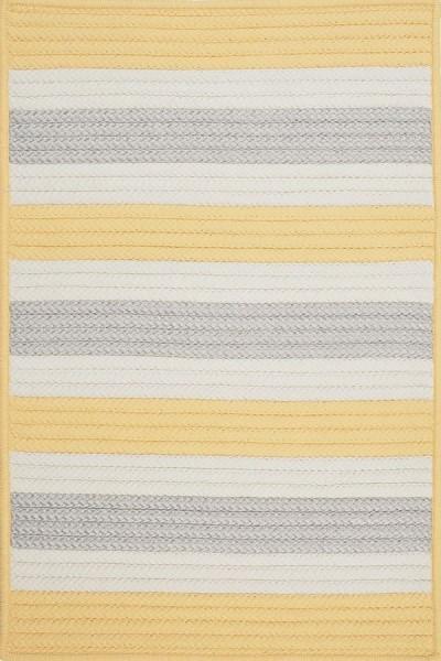Yellow Shimmer (TR-39) Outdoor / Indoor Area Rug