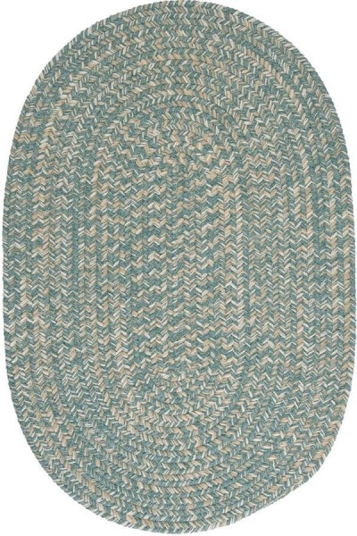Teal (TE-49) Country Area Rug