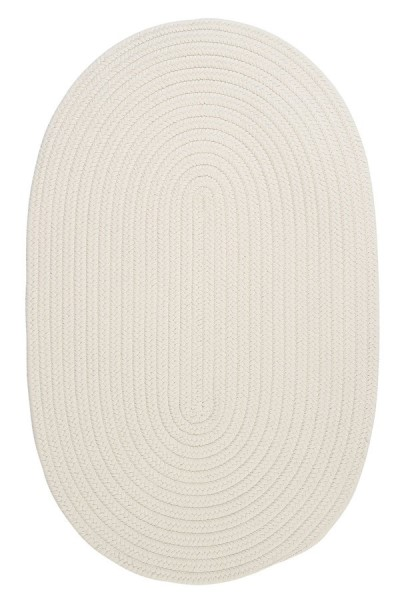 White (BR-10) Country Area Rug