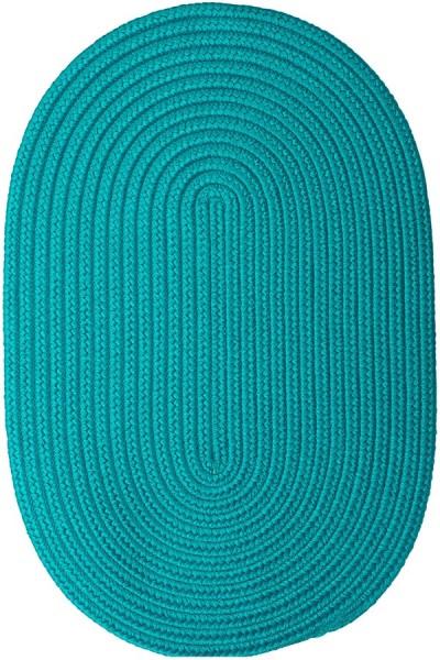 Turquoise (BR-56) Outdoor / Indoor Area Rug