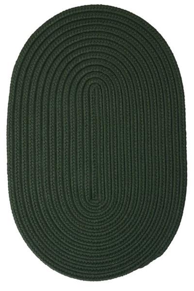 Dark Green (BR-64) Outdoor / Indoor Area Rug