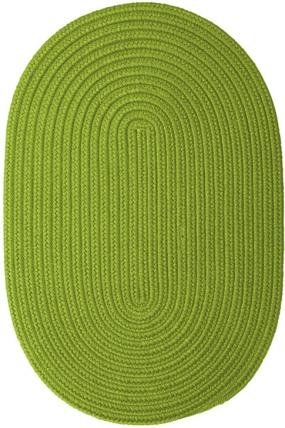 Bright Green (BR-65) Country Area Rug