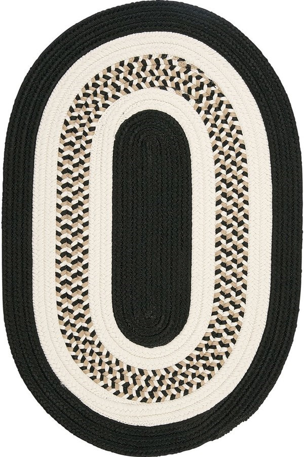 Black (FB-41) Outdoor / Indoor Area Rug