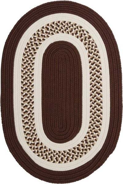 Brown (FB-81) Country Area Rug