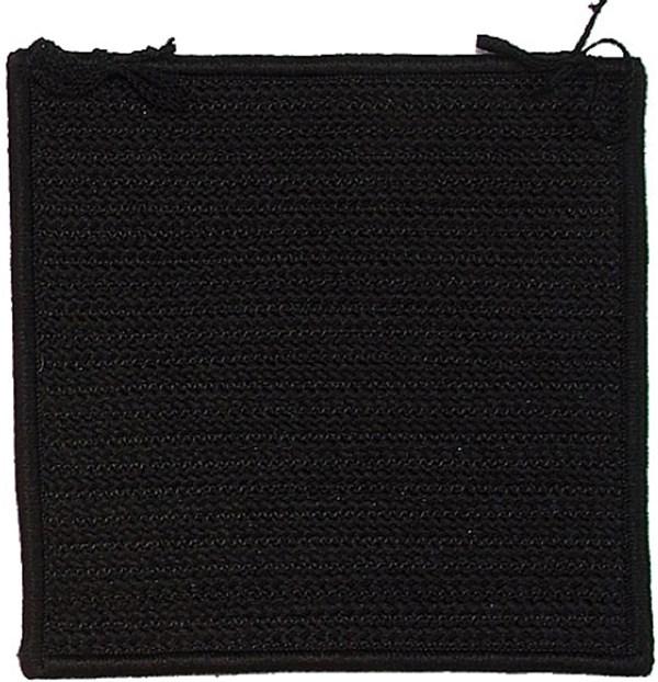 Black (H-031) Outdoor / Indoor Area Rug