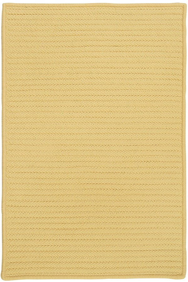 Pale Banana (H-833) Outdoor / Indoor Area Rug
