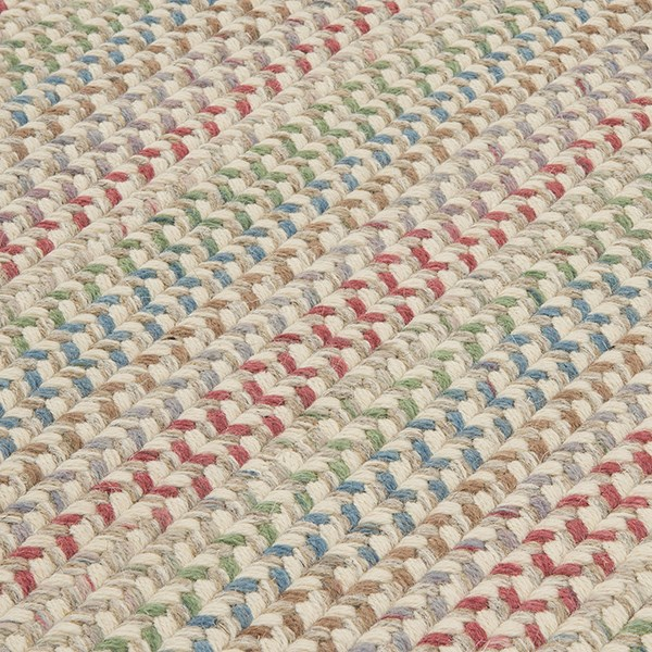 Natural, Red, Green, Blue (PN-11) Country Area Rug