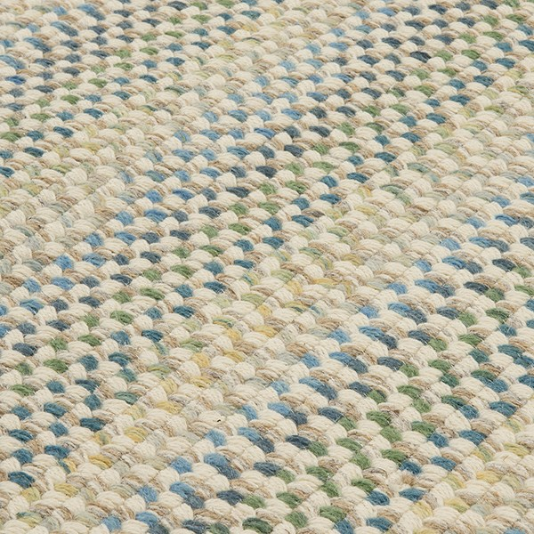 Natural, Blue, Green (PN-21) Country Area Rug
